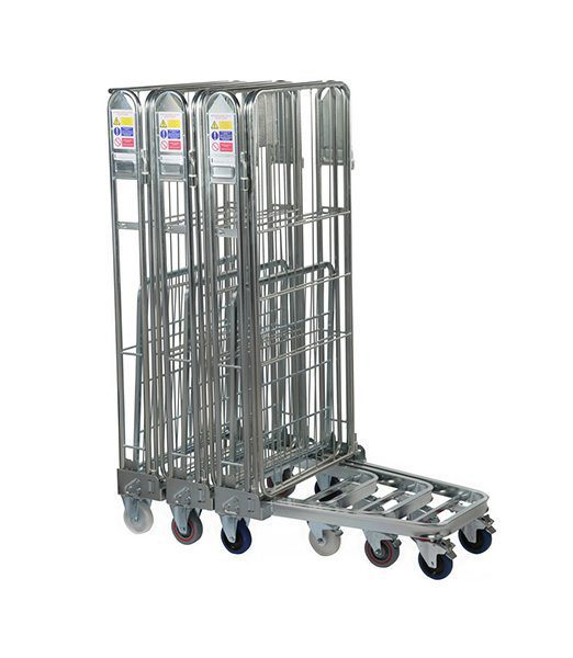 Three Sided Roll Pallet with Rod Infill