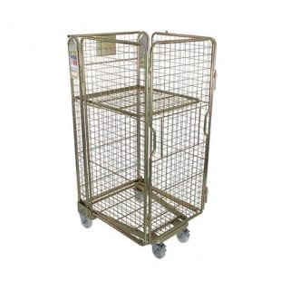 Four Sided Mesh Roll Pallet