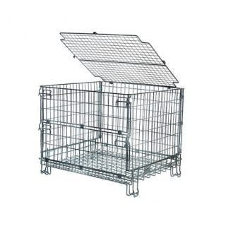 Security Lid for Standard Pallet Cage