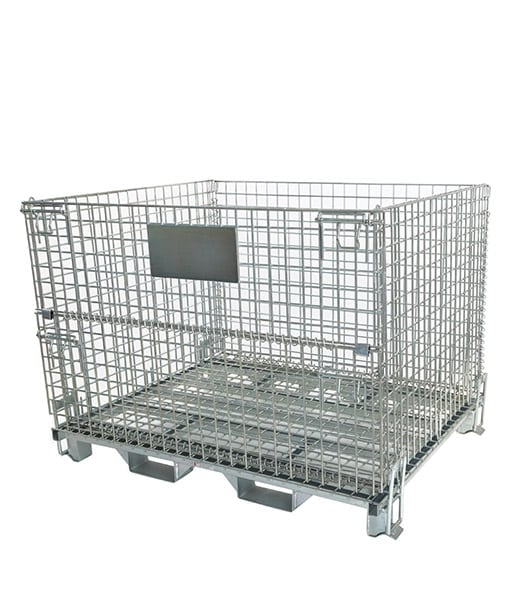 Heavy Duty Pallet Cage with Fork Guides