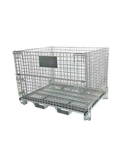 heavy duty stillage with fork guides
