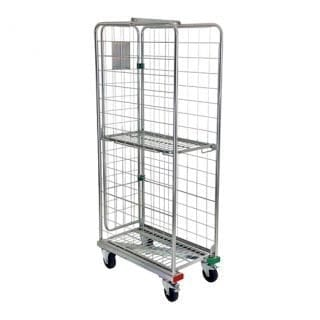 Three Sided Z Frame Roll Container
