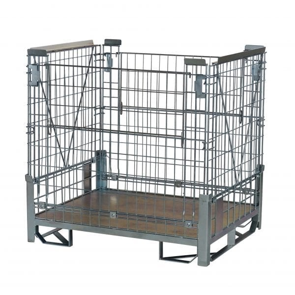 Heavy Duty Rackable and Collapsible Pallet Cage
