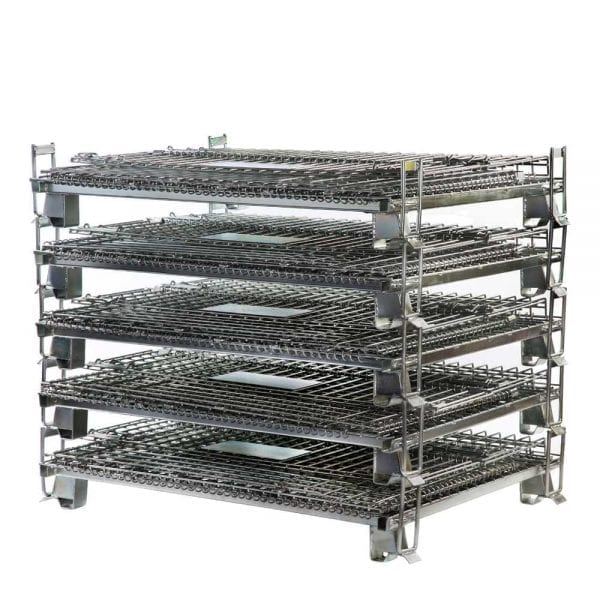 Heavy Duty Pallet Cage - Large Collapsible Unit