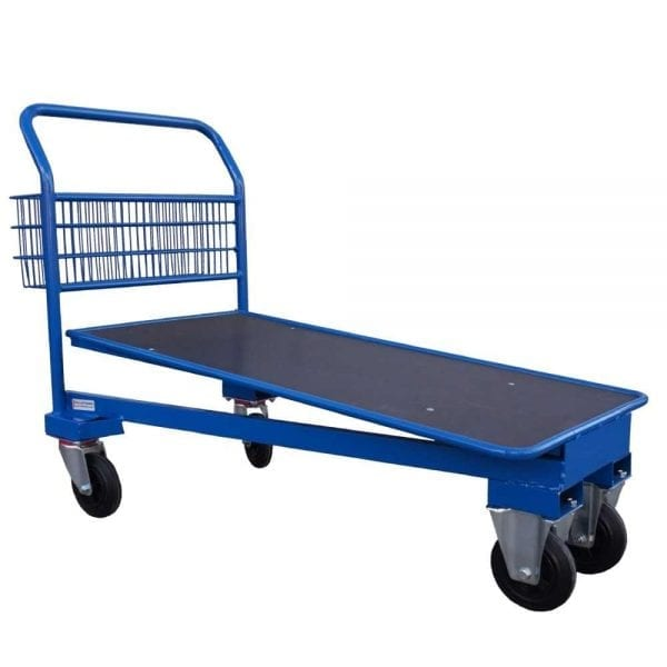 Cash and Carry Trolley Blue