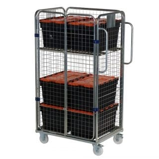 Four Sided Merchandising Trolley